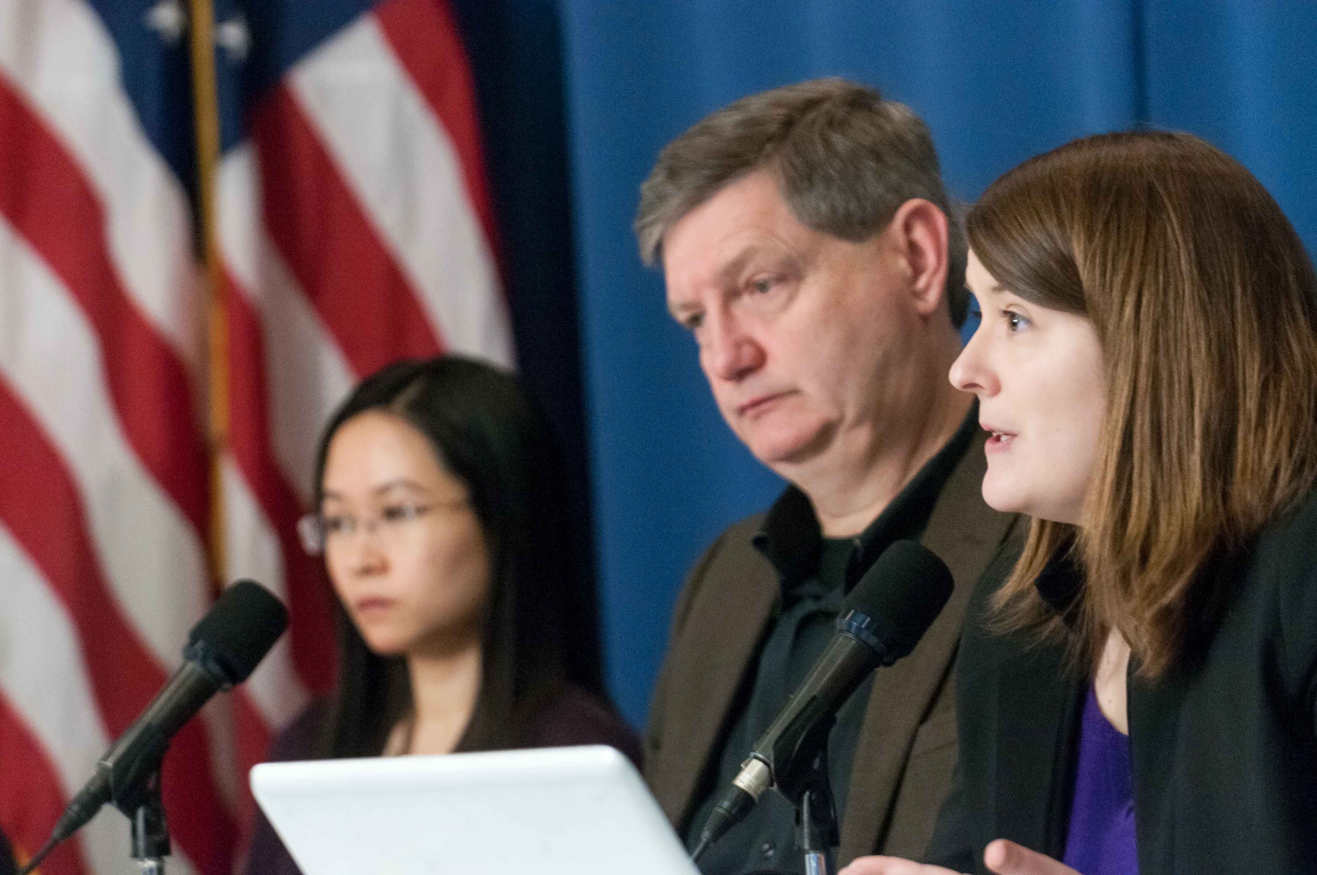 James Risen, Delphine Halgand Reporters Without Borders