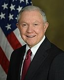 Jeff Sessions DOJ official photo
