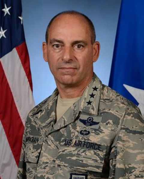 Jeffrey Harrigan Air Force Centcom general