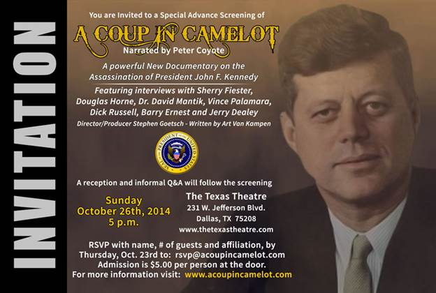 Coup In Camelot Documentary