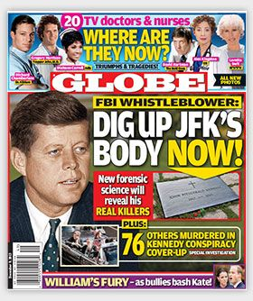 JFK Globe Coverage...76 Others Murdered