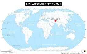 afghanistan map world