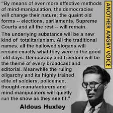 aldous huxley freedoms lost quotation