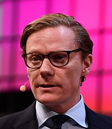 Alexander Nix at Web Summit 2017 in Lisbon (Photo by Sam Barnes: Sam-7378 CC by 2.0)