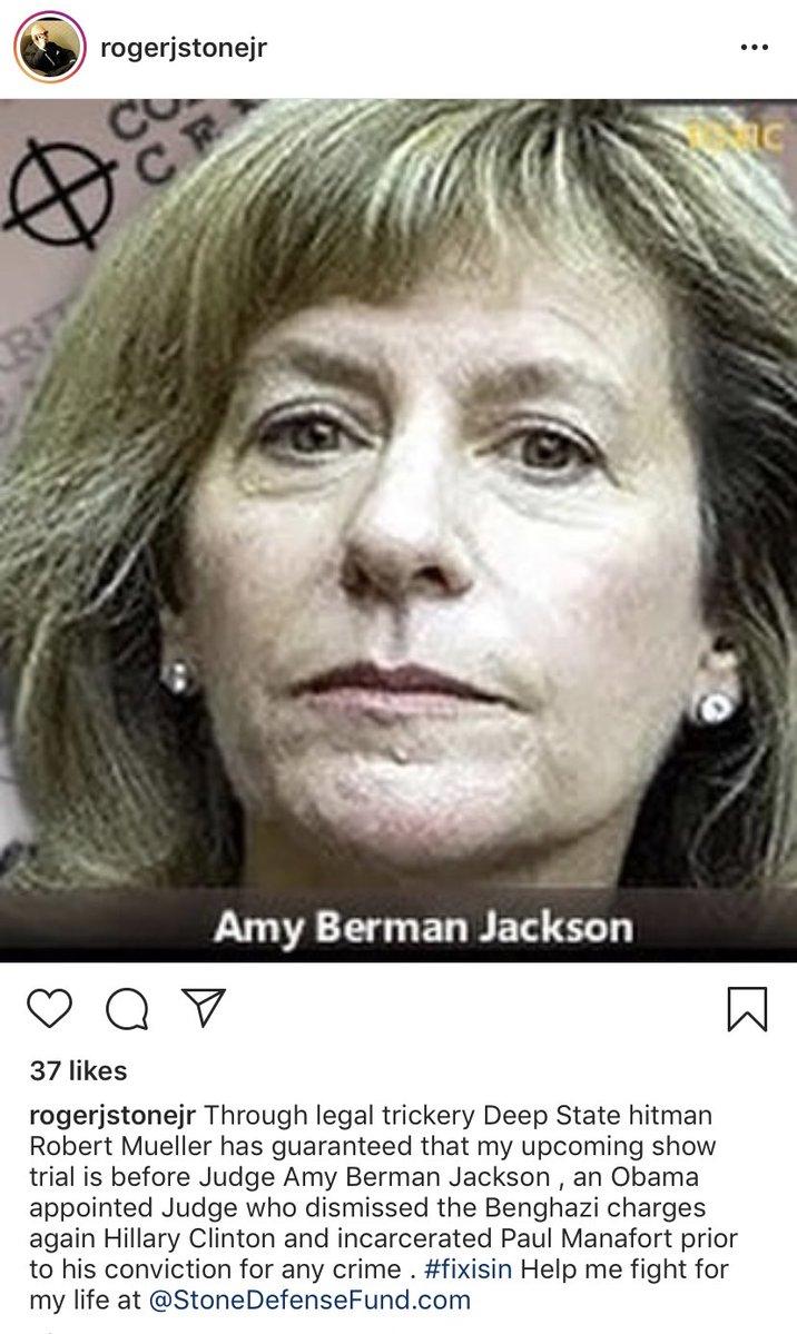 amy berman jackson roger stone