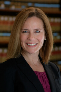 amy coney barrett headshot notre dame photo