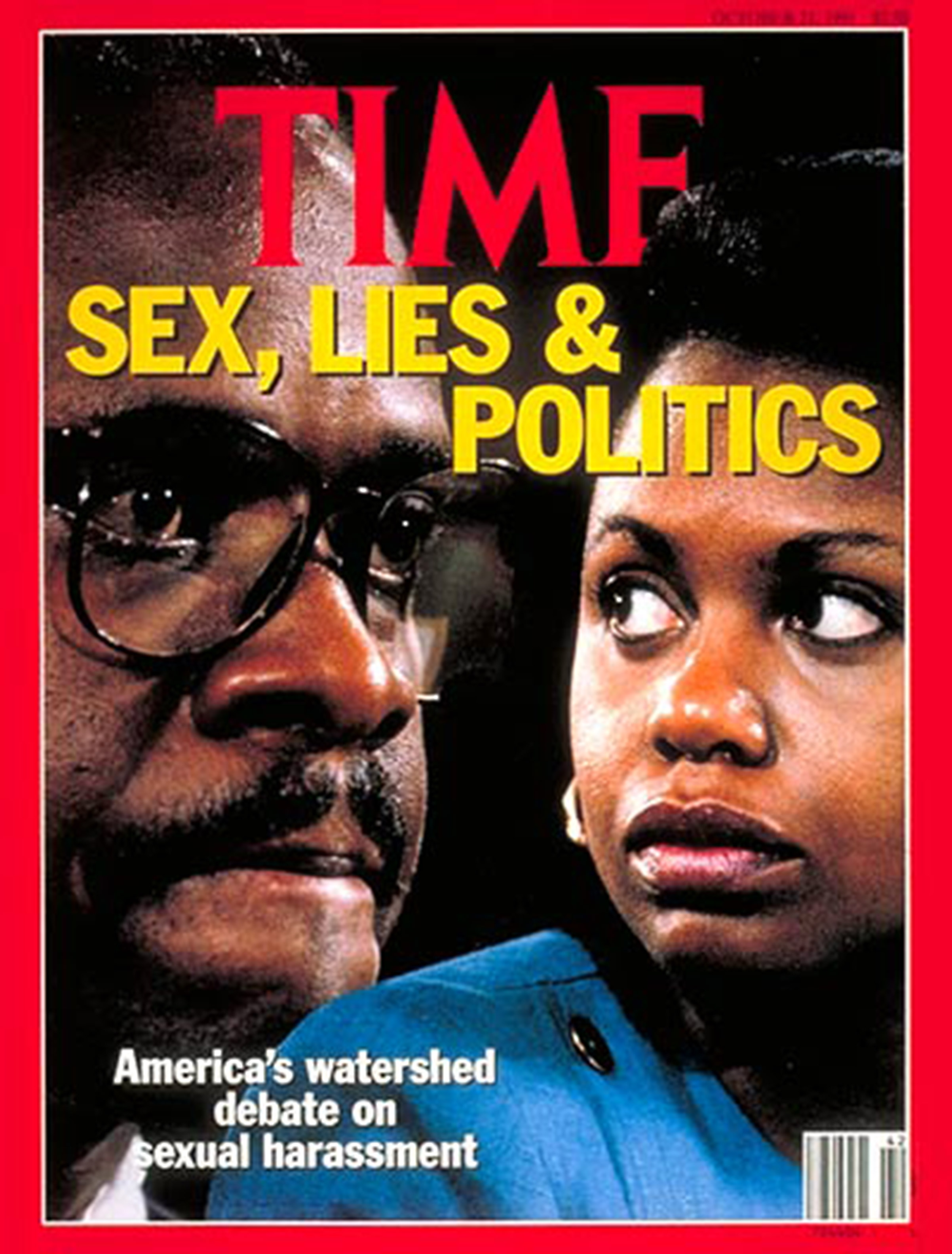 anita hill clarence thomas time scandal