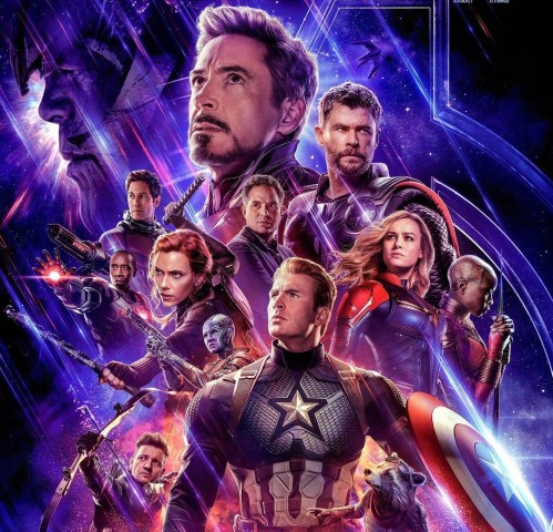avengers endgame poster square crop Small
