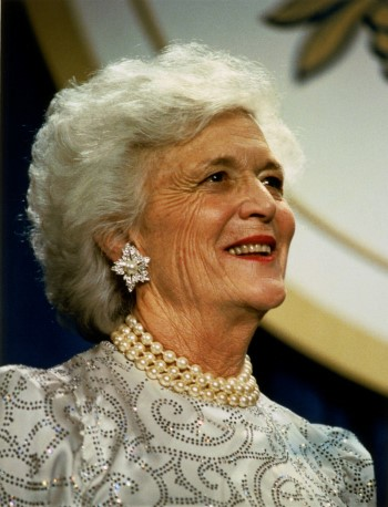 barbara bush portrait Custom 2