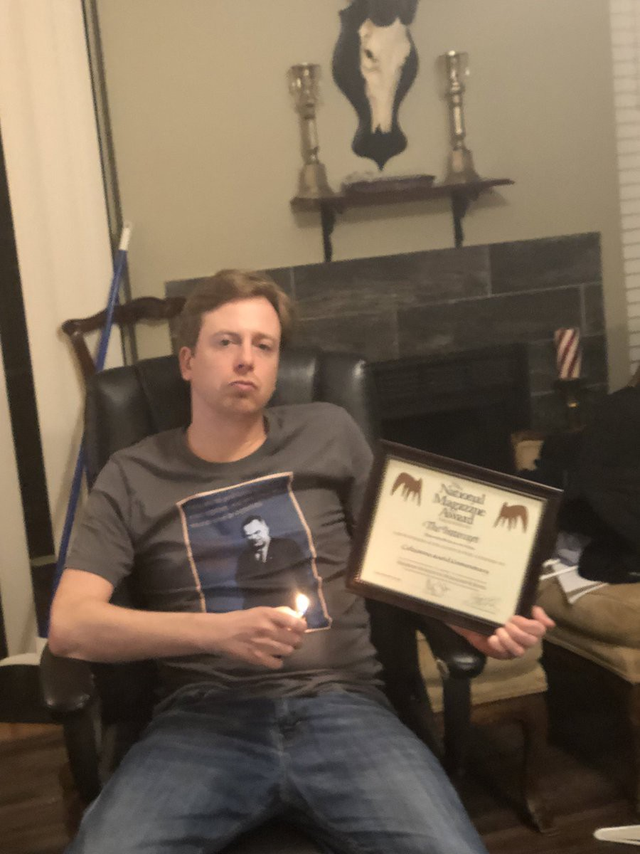 barrett brown national magazine award