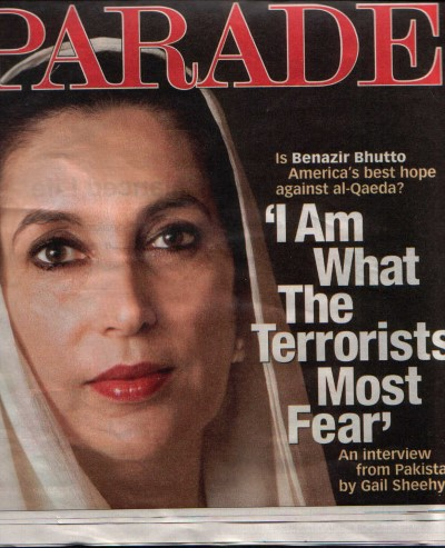 benazir bhutto parade cover custom