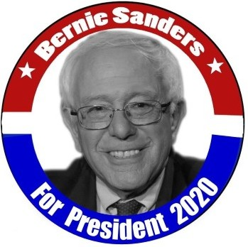 bernie sanders 2020 button cropped
