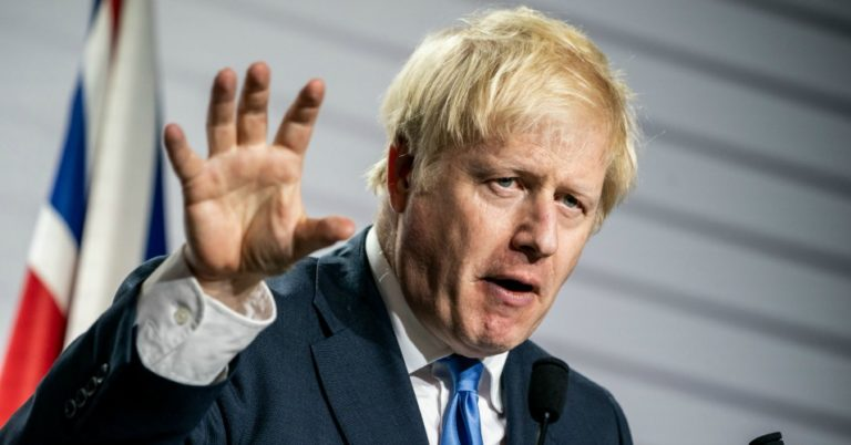 boris johnson hand up unsourced