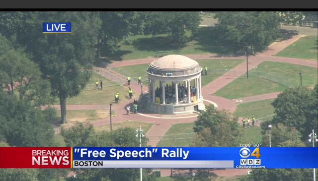 boston white supremiscist rally