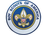 boy scouts logo custom