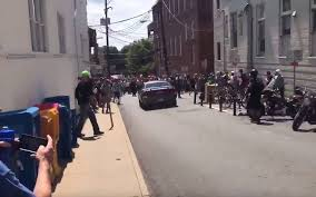 charlottesville white protest car screenshot