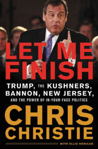 chris christie cover let me finish