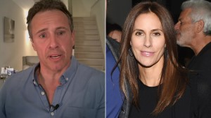 MSNBC host Chris Cuomo, recuperating at home from COVID-19, and his wife, Cristina Greeven Cuomo