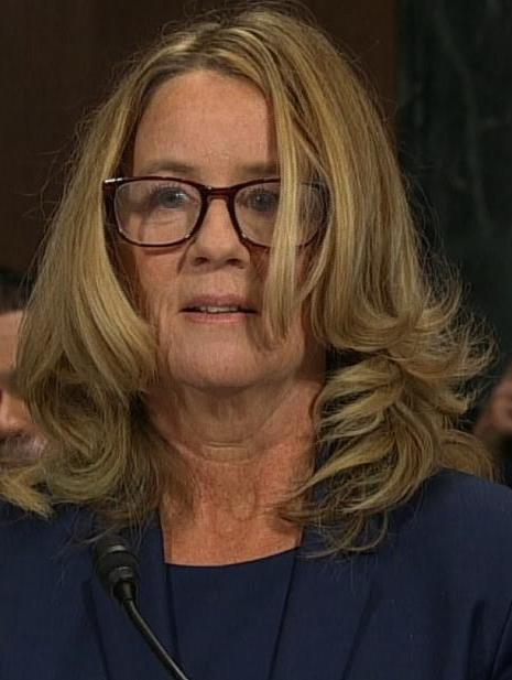 christine blasey ford sept 27 2018