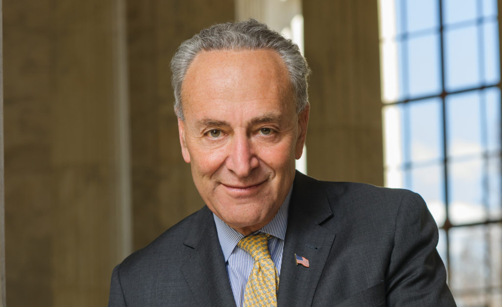 chuck schumer smile uncredited