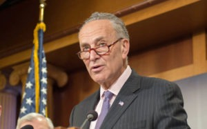 Senate Majority Leader Chuck Schumer, Democrat of New York.