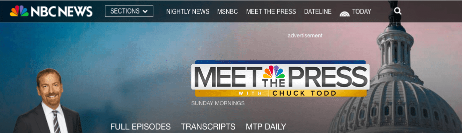 chuck todd meet the press logo