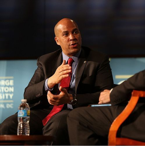 cory booker official profile