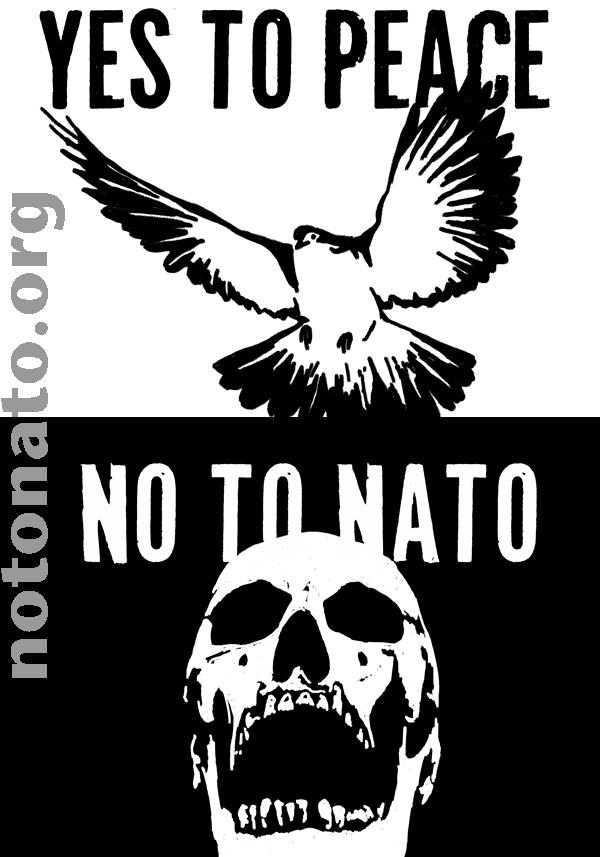 david swanson no to nato sign2