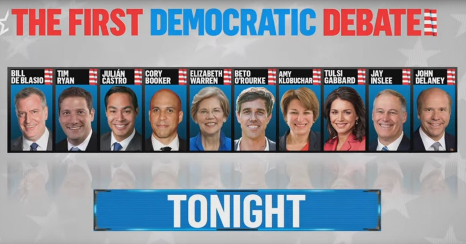 democratic debate june 26 2019
