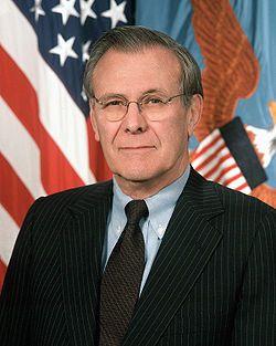 donald rumsfeld w