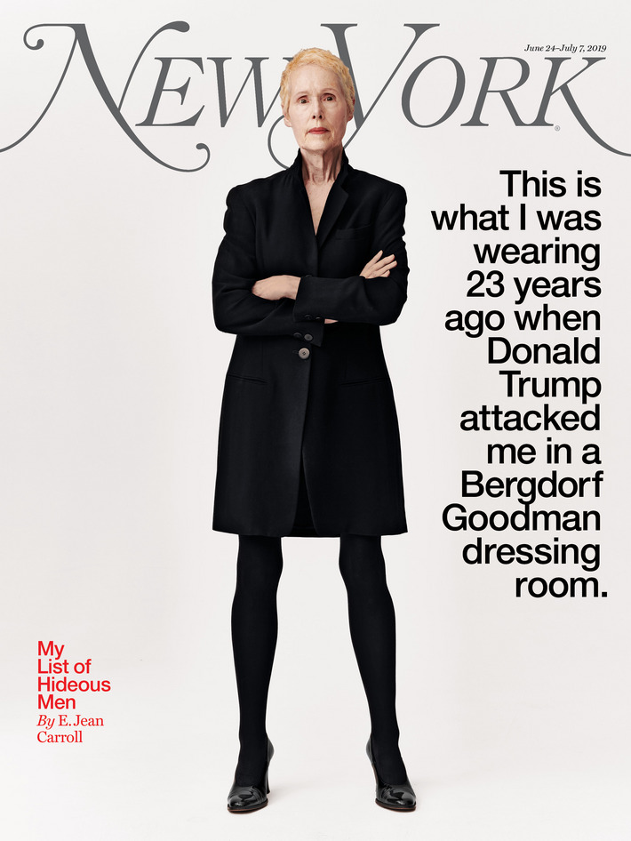 e jean carroll cover new york magazine