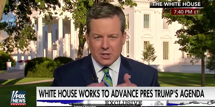 Ed Henry, former Fox chief white house correspondent