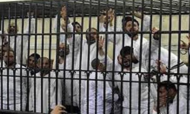 egyptian prisoners rabaa trial