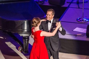 Missouri Gov. Eric Greitens and First Lady Sheena Greitens at 2017 Inaugural Ball (Missouri National Guard Photo)
