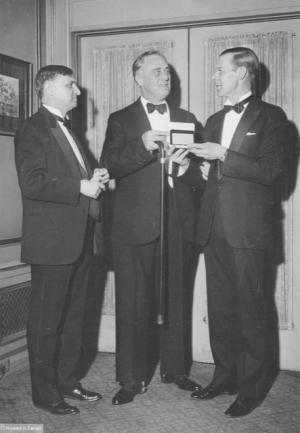 fdr npc 1933 president raymond brandt right former pres theodore tiller