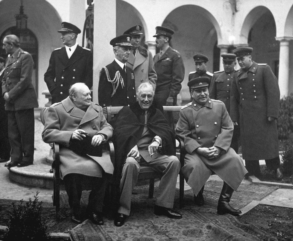 fdr stalin churchill yalta 1945