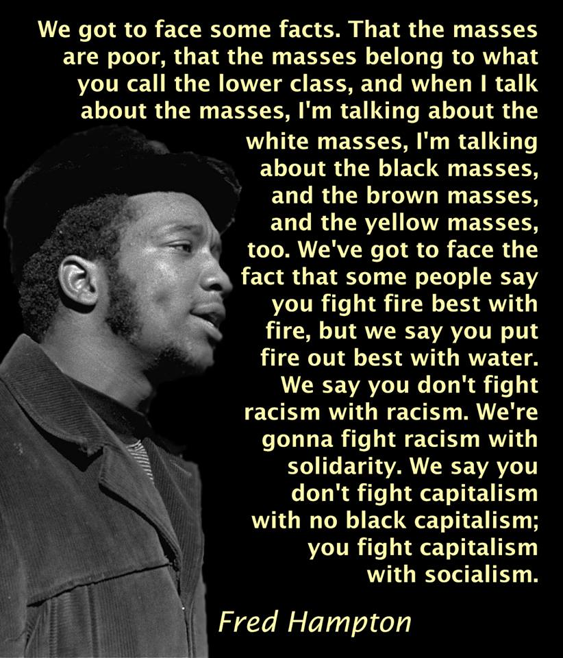fred hampton graphic
