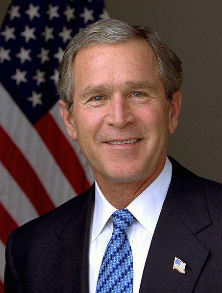 george w. bush w
