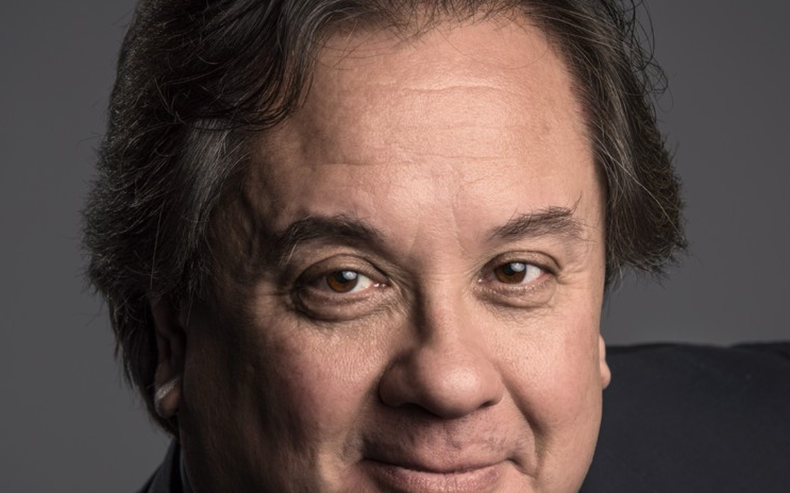 george conway post half face