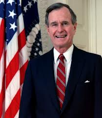 george hw bush HR