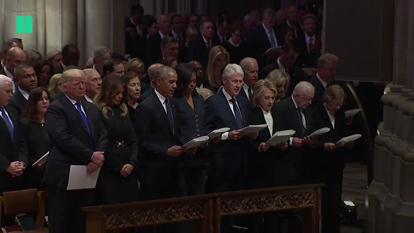 george hw bush funeral apostle creed
