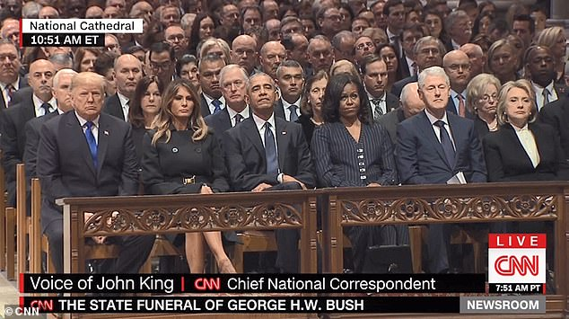 george hw bush funeral cnn dec 5 2018 presidents