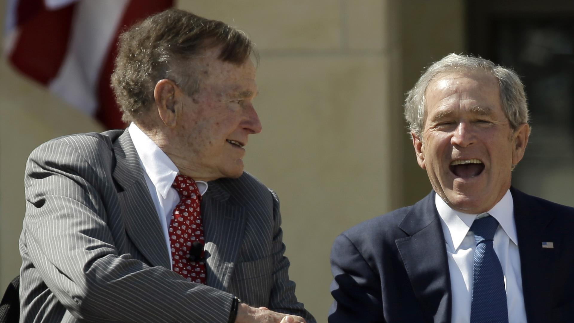 george hw bush and son