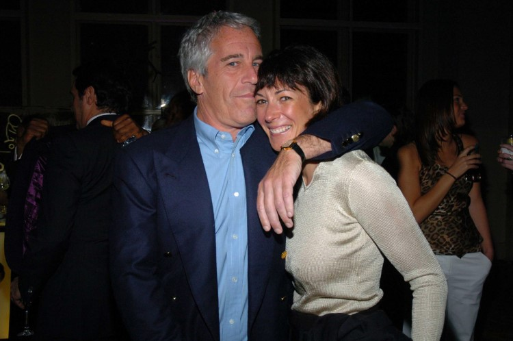 ghislaine maxwell jeffrey epstein getty Custom