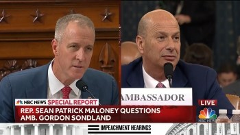 gordon sondland sean patrick maloney challenge nov 20 2019