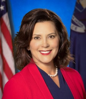 gretchen whitmer o smile Custom
