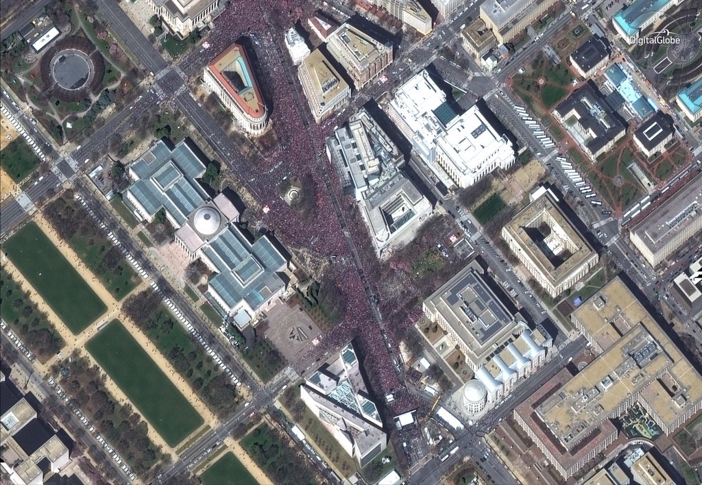 guns march for lives march 24 2018 digital globe