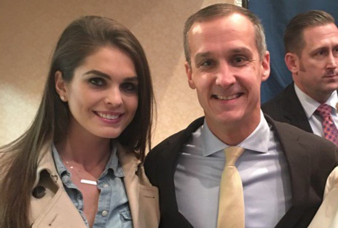 hope hicks cory lewandowski