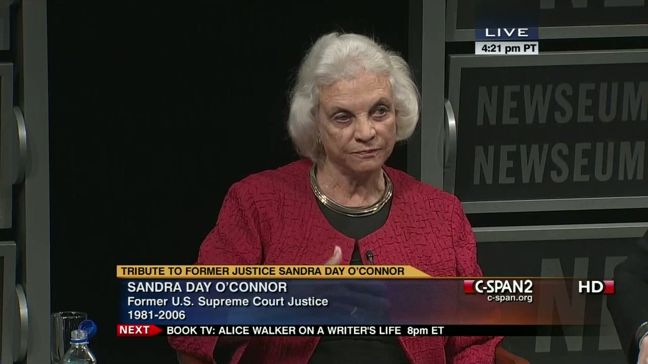 sandra day oconnor cspan 2012 screenshot