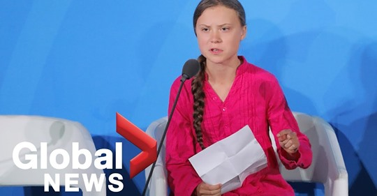 greta thunberg un climate talk sept 2019